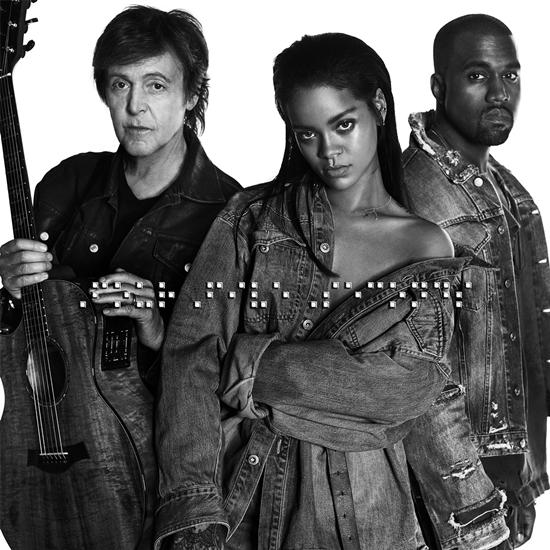 Rihanna, Kanye West & Paul McCartney