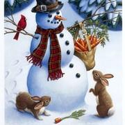 Снеговик Волшебный on My World.